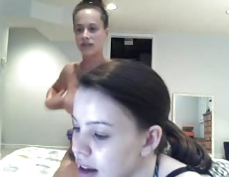 Emma and friend camshow